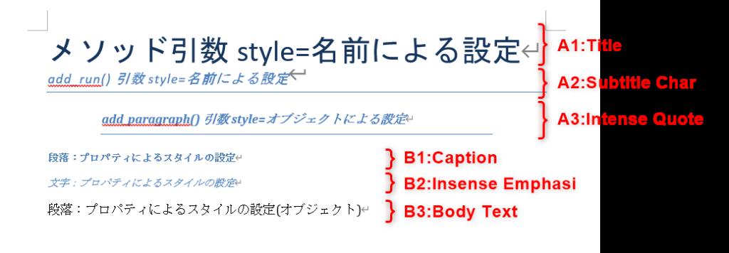 Styleの設定.取得の確認